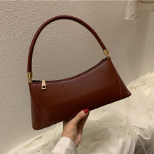 Casual Pu Leather Handbags Fashion Solid Color Shoulder Bags Ladies Designer Underarm Bag Women Purses High Quality Hand Bags 2017 new arrival women genuine leather handbags shoulder bags high quality simple casual europe fashion solid color green bags