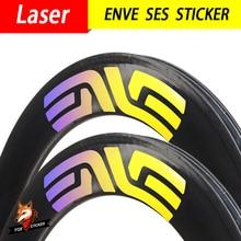 Laser 700c 24/30/38/50/55/60/80/88mm Specail Bicycle Sticker Road Carbon Wheels Decal Rim Brake Disc Brake