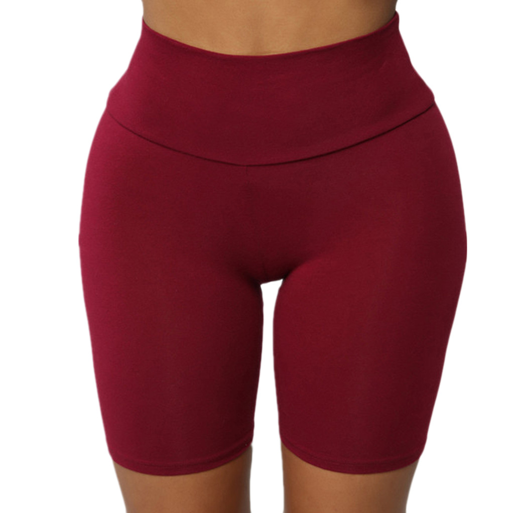 Ladies Pure Fitness Shorts Women High Strength Quick Dry Running Fitness Workout Yoga Shorts Deportivo Mujer 2019 New