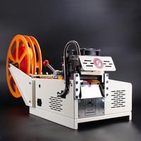 Large Screen Display Automatic Microcomputer Belt Cutting Machine Hot And Cold Cloth Magic Adhesive Tape Zipper Webbing Machine