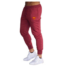 2020 New Cotton  Sweatpants Men Casual Pants Solid Color Gyms Fitness Workout Sportswear Trousers Autumn Winter Male Track