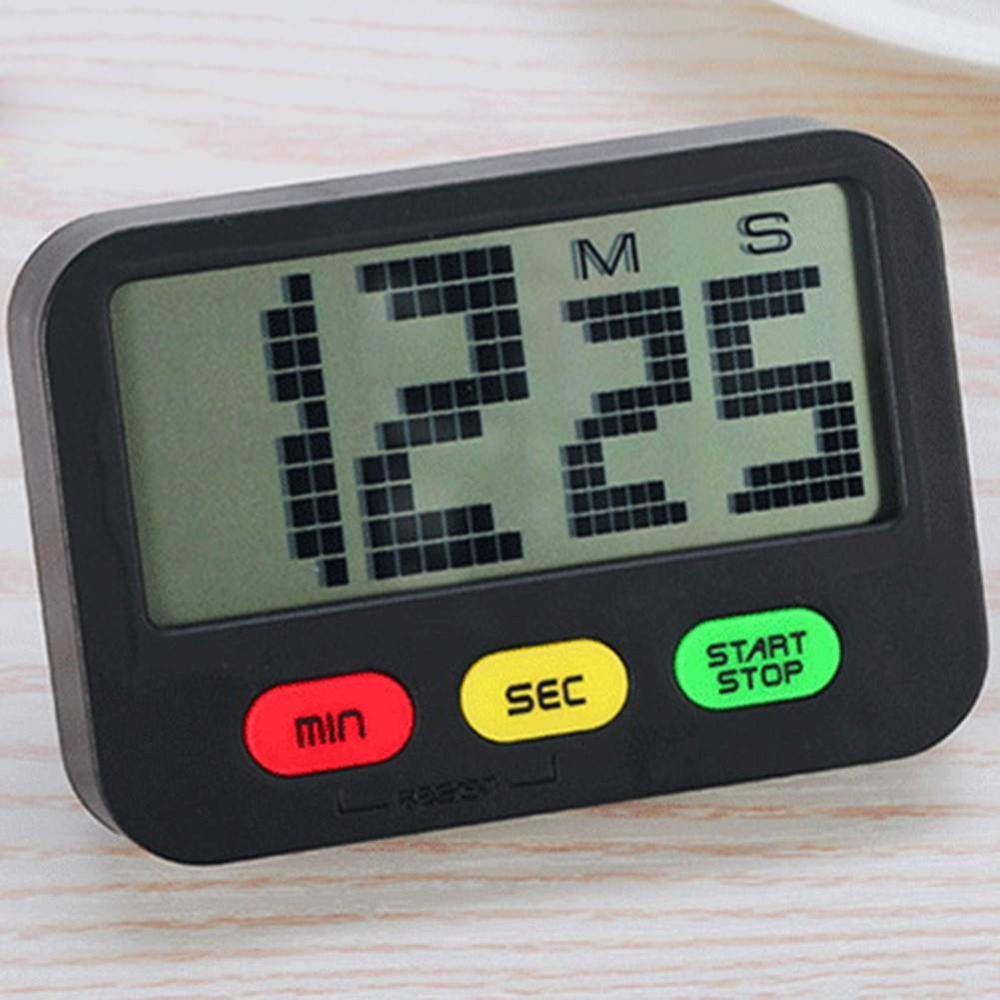 Practical Use Digital Kitchen Timer Large Display Home Electronic Kitchen Cooking Timer Stopwatch Kitchen Gadgets