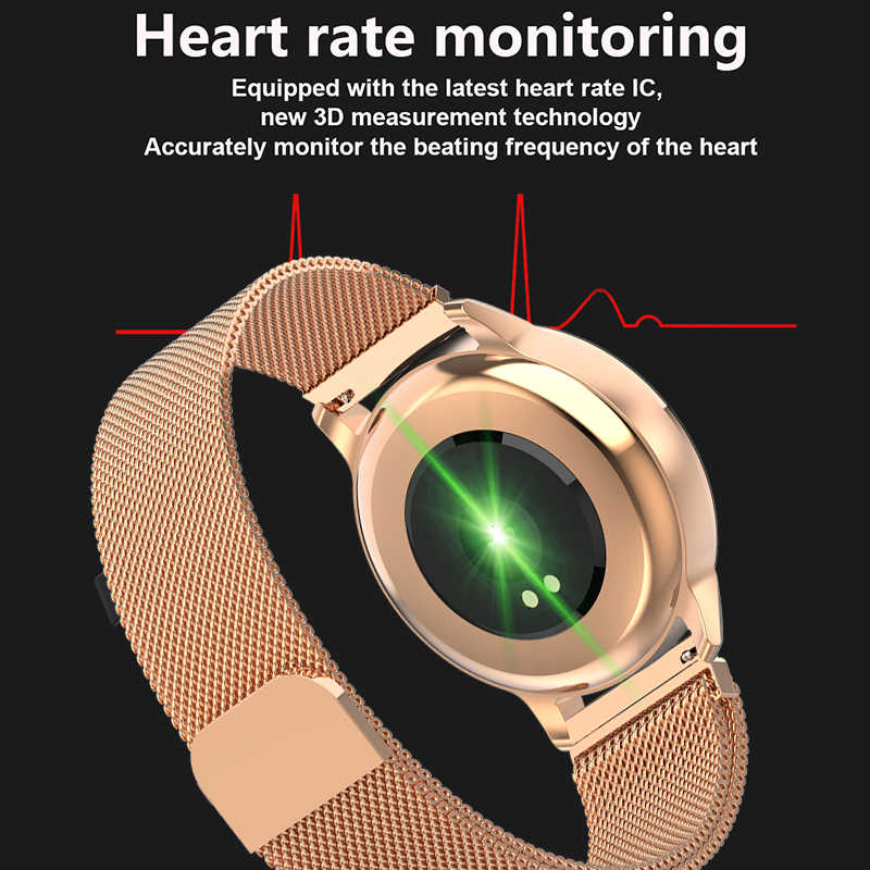 LIGE 2019 Uomini di smart Orologio Donne di Pressione Sanguigna Monitor di Frequenza Cardiaca Fitness Tracker smartwatch Pedometro Impermeabile Della Vigilanza di Sport