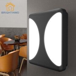 10W oświetlenie naścienne LED wodoodporne IP65 światło werandy nowoczesna lampa sufitowa LED ogród światło zewnętrzne ciepły biały zimny biały kinkiet