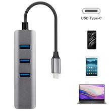 цена на New USB C HUB Gigabit Ethernet Rj45 Lan Adapter USB Type C to USB 3.0 HUB 10/100/1000 Network Card for MacBook ChromeBook