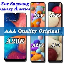 Оригинальный ЖК-дисплей для Samsung Galaxy A20E A12 A10E A21s, ЖК-дисплей с сенсорным экраном и дигитайзером для Samsung A11 A103 A20s A215, ЖК-экран