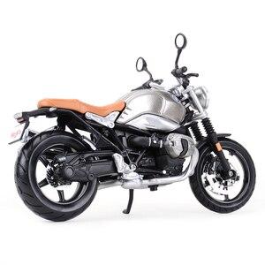Image 3 - Maisto 1:12 R nineT Scermber R1200GS Ninja H2R 1199 1290 Super Duke R S1000RR Z900RS YZF R1 Diecast Legierung Motorrad Modell spielzeug