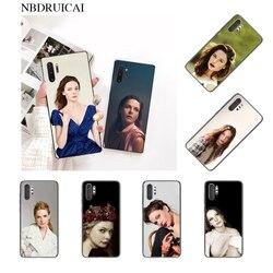 Чехол для телефона PENGHUWAN Rebecca Ferguson для Samsung Note 3 4 5 7 8 9 10 pro M10 20 30