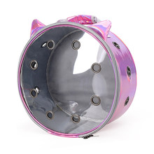 Cat Carrier Bags Round Breathable Pet Carriers Small Dog Cat Backpack Travel Space Capsule Cage Pet Transport Bag Carrying Cats