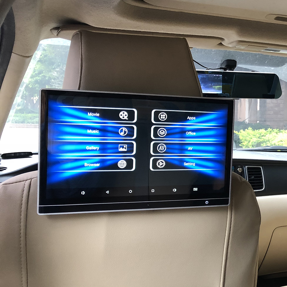 12.5 Inch Android 8.1 Car Rear Seat Entertainment System With 1920X1080 4K HD 1080P Video Multimedia Player TV Monitor For Honda|Car Monitors| |  -