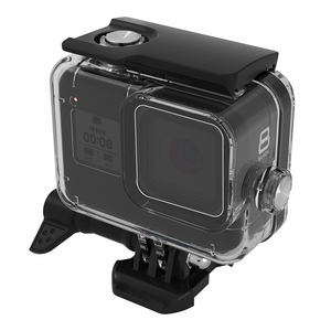 Image 4 - SnowHu for Go Pro Hero 8 45m Underwater Waterproof Case Diving Protective Cover Housing Mount for Gopro 8  Black Accessory GP801
