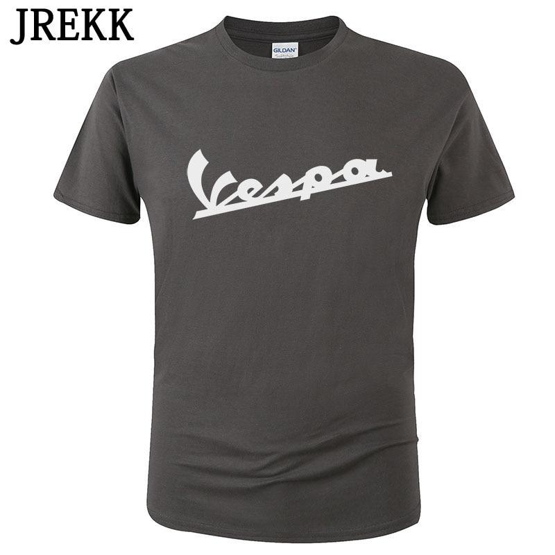 2020 Vespa T Shirt Men Funny Vespa Harajuku Print T-shirt 100% Cotton Summer Short Sleeve O Neck Tees Male Tops C108 6