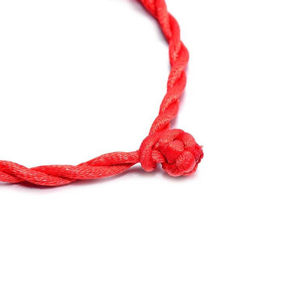 ホット販売 2020 1PC ファッション赤糸文字列のブレスレット幸運赤、緑手作りロープのブレスレット男性ジュエリー恋人カップル