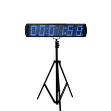 5 LED digital race timer large electronic sports with stopwatch