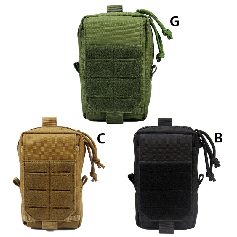 Multifunction Outdoor Hunting Molle EDC Pouch Utility Gadget Belt Waist Bag High Quality Portable Waterproof Camping Hiking Bag