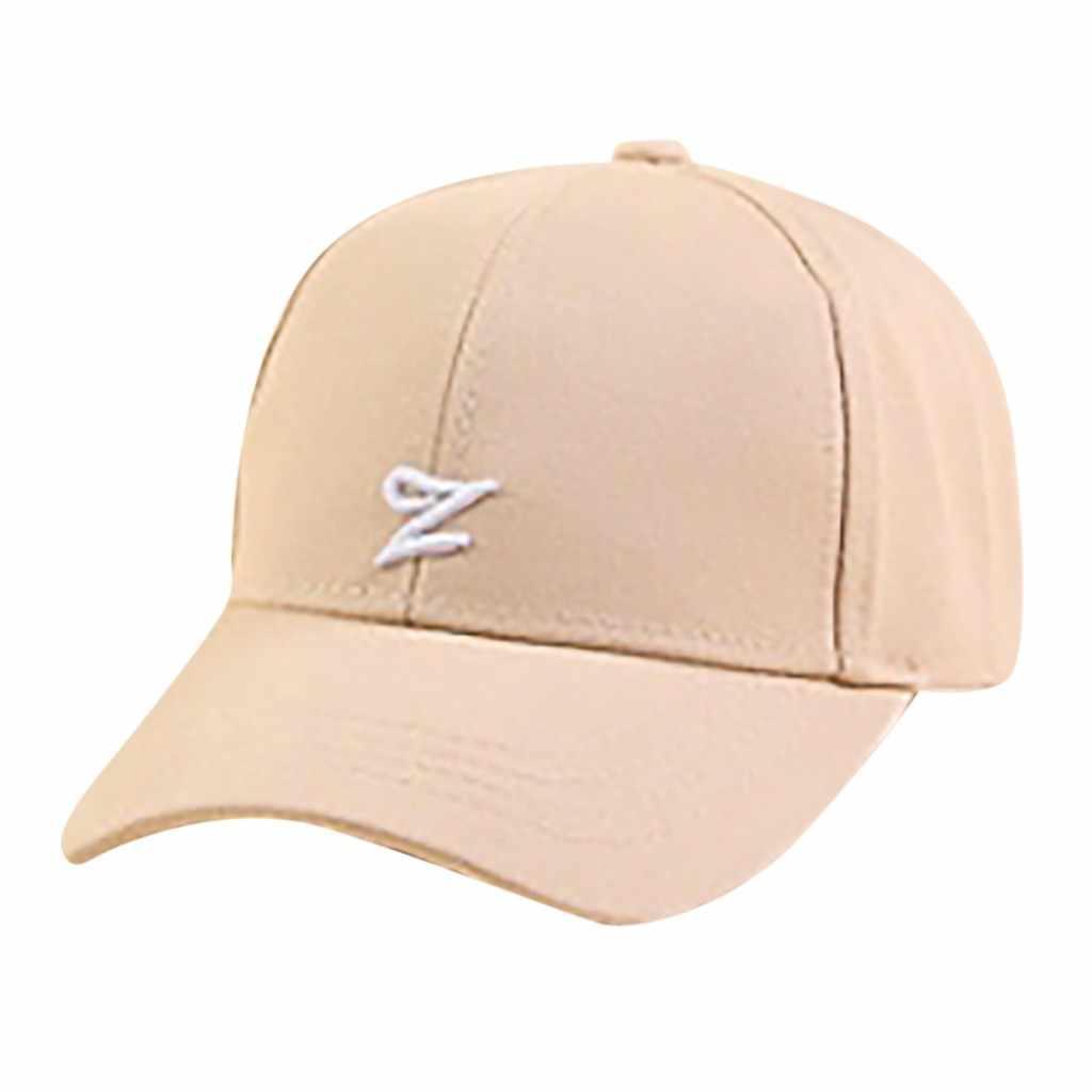 2019 Mode Solide Nouveau Automne Casquette Marque Unisexe Casquette de Baseball décontracté Lettre Imprimé Réglable Hip Hop Streetwear Casquettes De Baseball