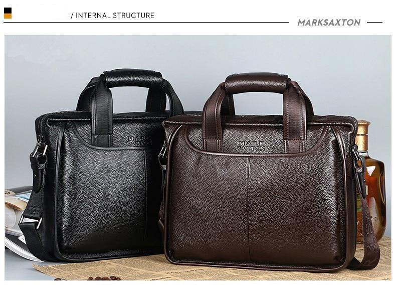 H34f7bef9d41f4b2e9d2ec4bf31cdc2a0P 2019 New Fashion cowhide male commercial briefcase /Real Leather vintage men's messenger bag/casual Natural Cowskin Business bag