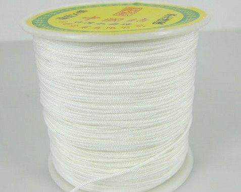 Hrt345e 1 5mm  Nylon 160M/175yards/lot Chinese Knot String Nylon Cord Rope For   Bracelet Jewelry Crystal