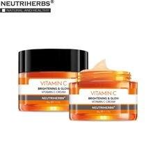 NUETRIHERBS krem do twarzy z witaminą C krem na noc nawilżająca skóra Anti Aging i zmarszczki 50g ℮ / 1.7oz