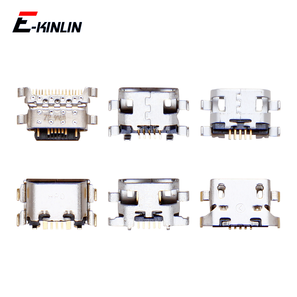 Type-C Micro USB Jack Charge Charging Connector Plug Dock Socket Port For XiaoMi Redmi S2 Note 7 7S 6A 6 5 Pro Plus