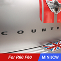 Auto Schwanz Hinten Stamm 3D Buchstaben Metall Aufkleber Refit Paster Für Mini Cooper S JCW One Countryman R60 F60 Auto zubehör