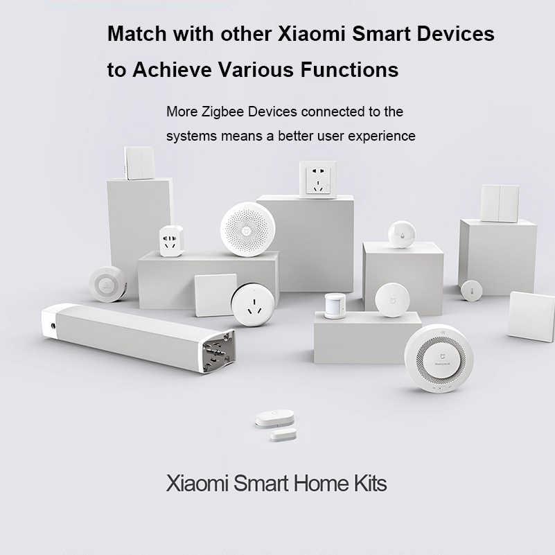 Aqara akıllı ev kitleri ağ geçidi 3 Hub kamera duvar anahtarı Zigbee kablosuz anahtarı insan motion nem su kapı sensörleri HomeKit