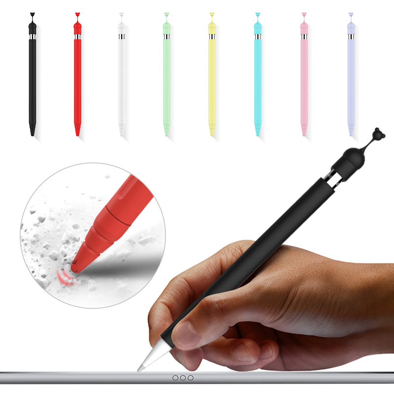 2 In 1 Touch Pen Stylus Protective Cover For IPad Pencil 1st Protective Sleeve For Apple Pencil 1 Cute Bear Cap Holder Nib Cover
