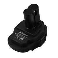 Mt20Mn 18V Lithium Battery To Ni Mh Ni Cd Li Ion Battery Converter Adapter for Makita Bl1860B/Bl1860/Bl1850B/Bl1850/Bl1840/Bl183 Battery Accessories     -