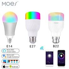 WiFi Smart Light Bulb Intelligent Colorful LED Lamp 7W RGBW