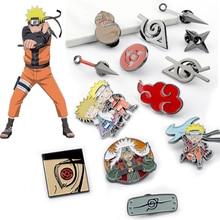 Cosplay Brooch Prop Costumes Metal Enamel Pin Men Lapel Badge Anime Accessories
