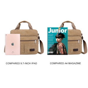 Image 5 - Men Shoulder Messenger Bags For Men Canvas Travel Bag Fashion Handbag high Quality Business Vintage Bag For Women