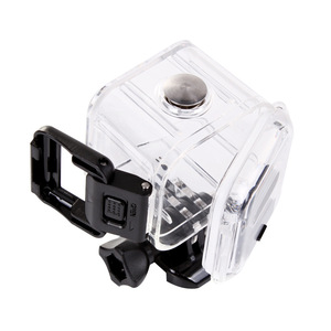 Image 4 - Voor Gopro Actino Camera Sessie Waterdichte Shell Case Voor Hero 4 5 Sessie Onderwater Behuizing Doos Gopro Sport Accessoires
