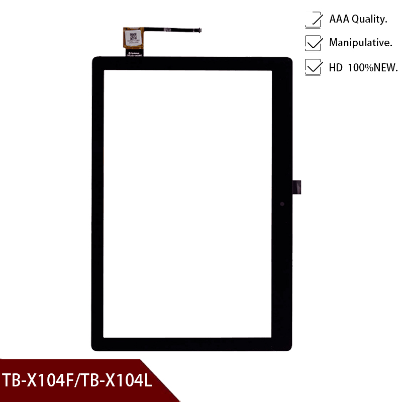 New For Lenovo TAB E10 E 10 TB-X104 TB-X104F TB-X104L TB X104 X104L X104F Tablet Touch Screen Digitizer Panel Glass Sensor