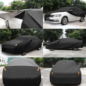 Image 4 - X Autohaux Universele Full Car Cover Indoor Outdoor Auto Covers Sneeuw Ijs Waterdichte Stof Zon Uv Shade Cover Auto reflector