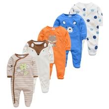 Baby Pyjamas Sleepers Bebe Newborn Girl Boy Cotton 5pcs Fille Soft Breathable