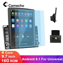 Camecho Android 8.1 2 Din Car Radio Multimedia Navigation Video Player 2.5D IPS+Screen For Volkswagen Toyota Golf Polo Hyundai