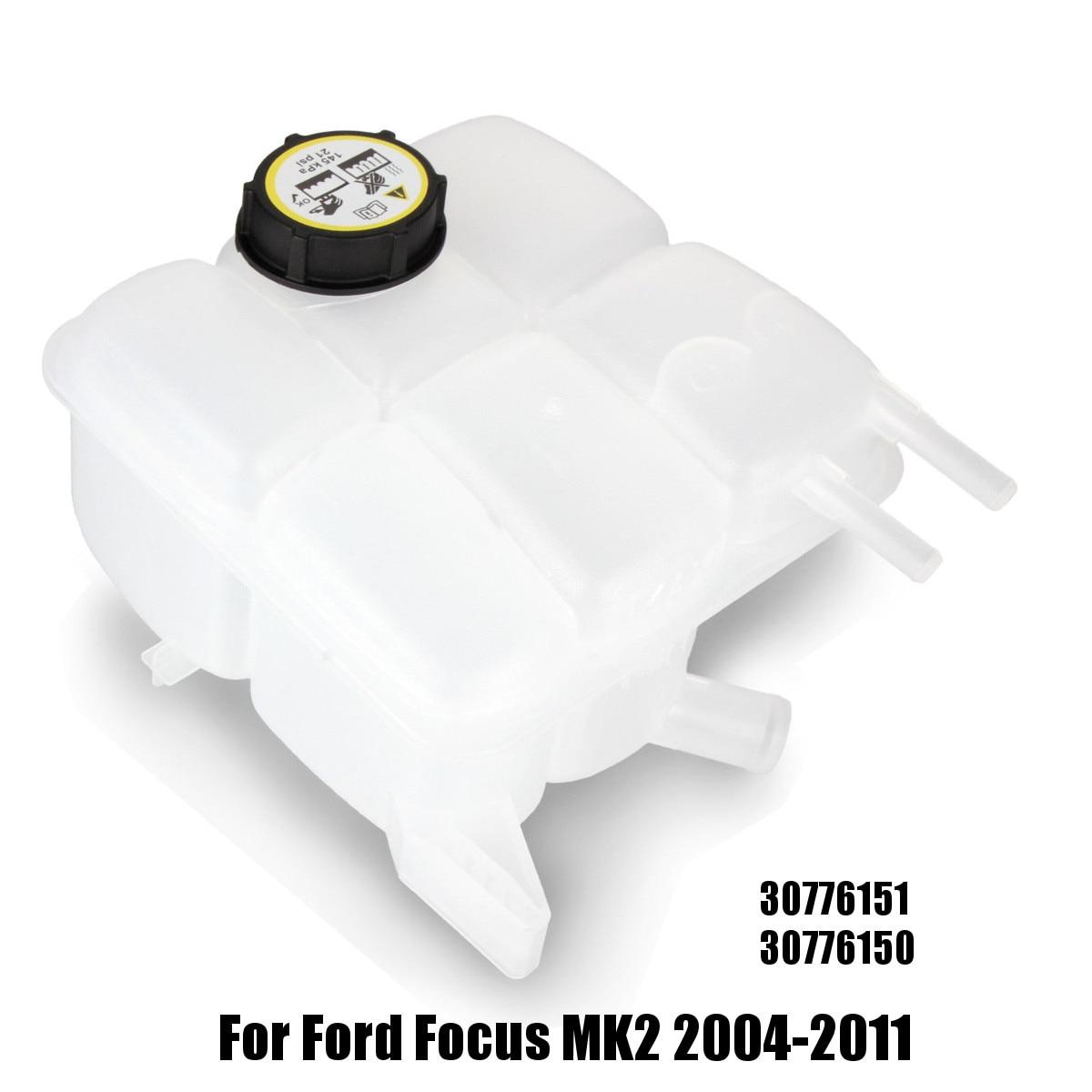 Vase d'expansion de liquide de refroidissement de radiateur de voiture W/Cap 30776151 30776150 pour Ford pour Focus MK2 2004-2011