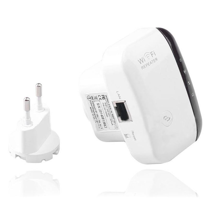 WiFi Range Extender Up To 300Mbps Repeater 2.4G  WiFi Signal Booster