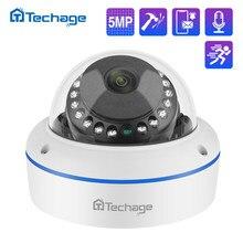 H.265 4MP 5MP 48V POE IP Cámara 2,8mm Domo interior al aire libre a prueba de vandalismo registro de Audio P2P ONVIF CCTV seguridad vigilancia por vídeo
