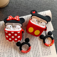 For Apple Air pods Pro 3 Case Keychain 3D Headphone Case For Airpods Pro Case Silicone lovely Cartoon Earphone Earpods Cover cute earphone case for airpods pro case silicone cartoon bear earpods cover for apple air pods pro 3 coque accessories keychain