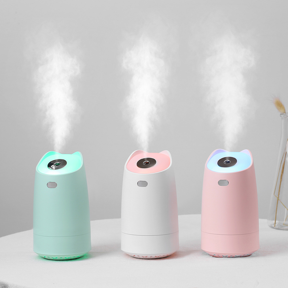 280ml Aromatherapy Car Usb Mini Humidifier Humidificador Aroma Essential Oil Ultrasonic Battery Portable Air Diffuser Home Spa