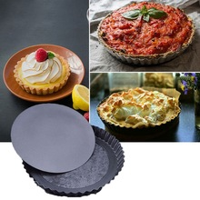 Eco-friendly Silicone Cake Mold Fruit Pie Mould Egg Tarts Mold Baking Tray Round Fondant Cake Mold Pie Bakeware Pan Baking Tools horse pie