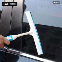 Carro pára brisa t tipo raspador de água de limpeza de vidro rodos macio remover manchas de água pintura do carro acessórios de limpeza doméstica