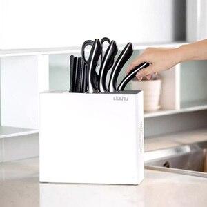 Image 5 - Youpin Sterilization Knife And Chopstick Holder UV Sterilization Drying Storage Kitchen Block Tools Knives Stander