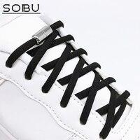 Lacets élastiques sans lacets lacets en métal pour enfants baskets adultes lacets rapides lacets en demi-cercle lacets paresseux N4001