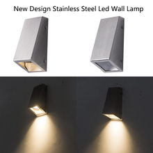 indoor & Outdoor Stainless steel 5W LED Wall Lamp exterior Wall Light Surface Mounted modern Wall Sconce