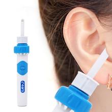 Elektryczny bezprzewodowy patyczek do uszu bezpieczne wibracje bezbolesne narzędzie do czyszczenia uszu Remover spiralne czyszczenie uszu urządzenie Dig Wax higiena osobistej narzędzia tanie tanio CN (pochodzenie) 1d-Earcare Plastic Silicone Electric Ear Cleaner 11 8cm x 5 6cm x 3 1cm 4 65 x 2 20 x 1 22 (Approx )