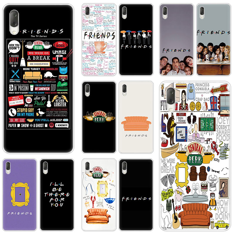 Hot Friends Together Hard Case For Sony Xperia L1 L2 L3 X XA XA1 XA2 XA3 Ultra 10 Plus E5 XZ XZ1 XZ2 Compact XZ3 XZ5 2 20 Cover image