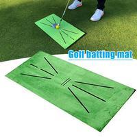 Outdoor Golf Training Swing Detectie Mat Batting Golfer Tuin Grasland Praktijk Training Apparatuur Mesh Aid Kussen Golf Tool
