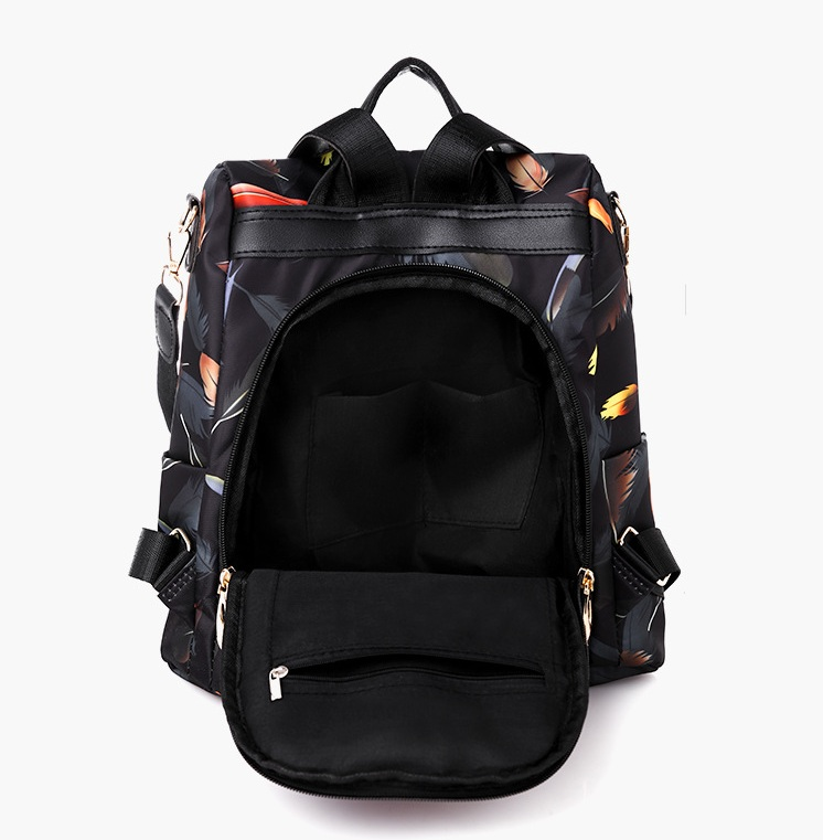H34fcc42179d24bf6bd20d377b081abcfm Mochilas mujer 2019 New Oxford cloth waterproof student bag Travel casual backpack women outdoor bag mochila feminina CL05